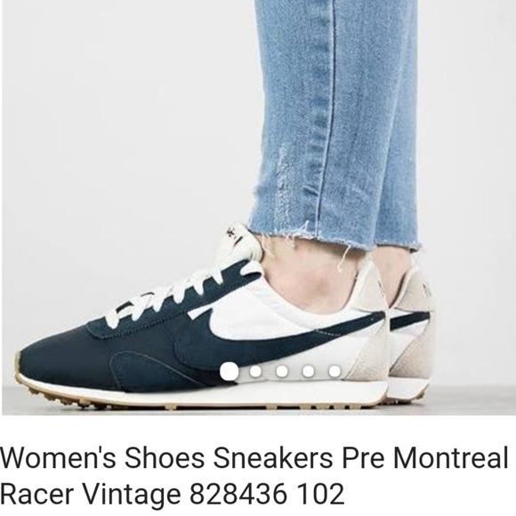 Nike Vintage Pre Montreal Sneakers